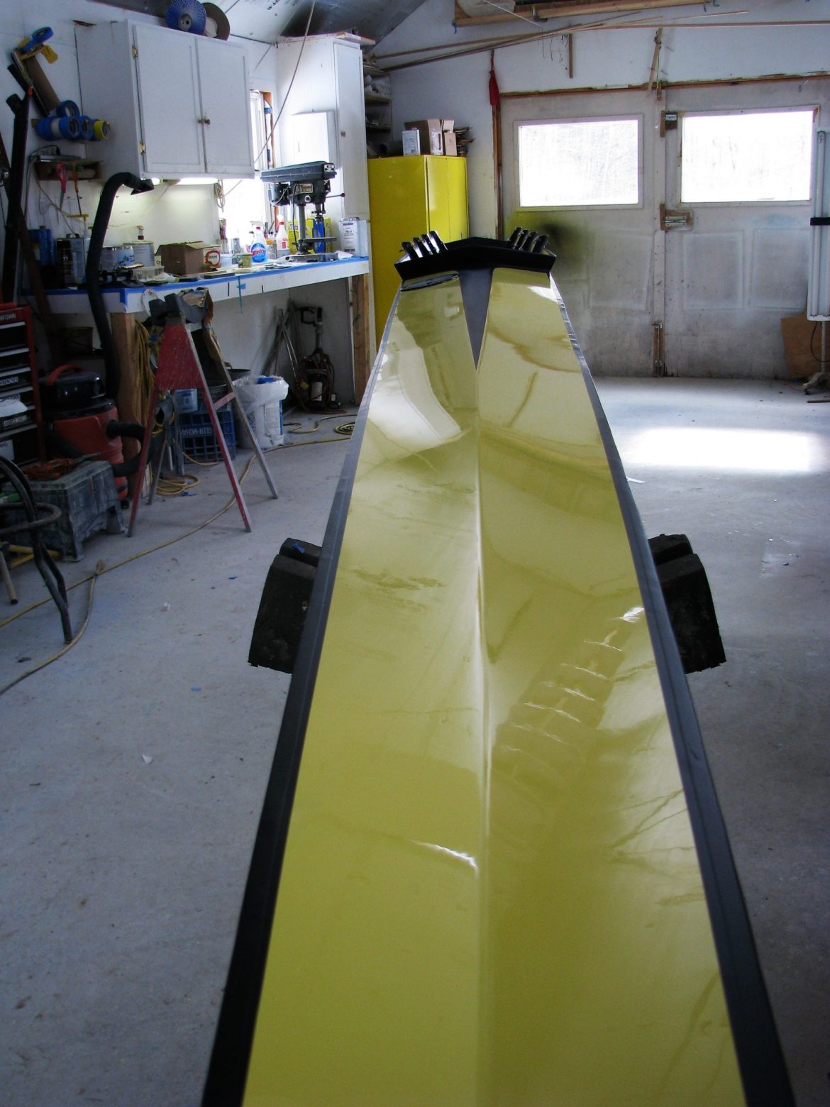 Rowing shell repair, structural and cosmetic - Saratoga Small Craft