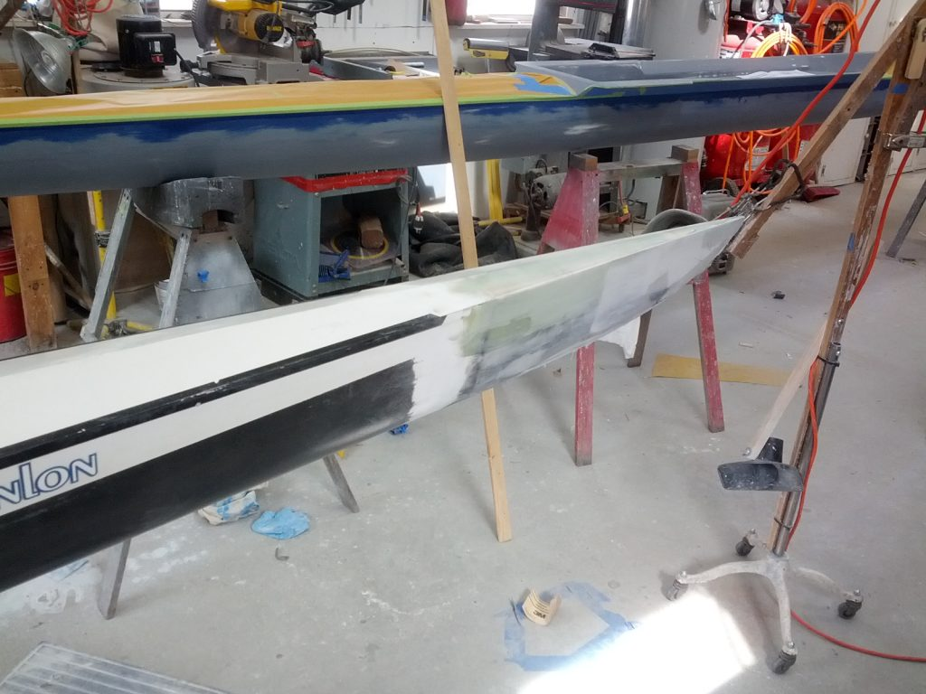 Bow Repair on Swift Quad - Replace Bow details - Saratoga