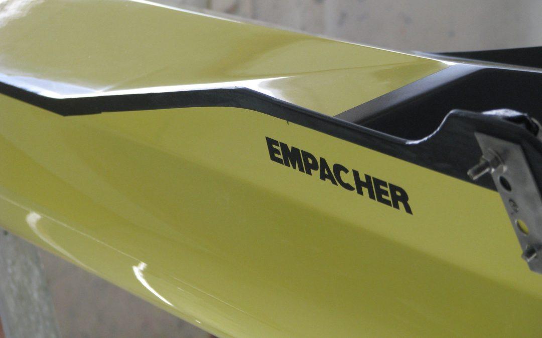 Empacher 2X Shell Restoration - Saratoga Small Craft